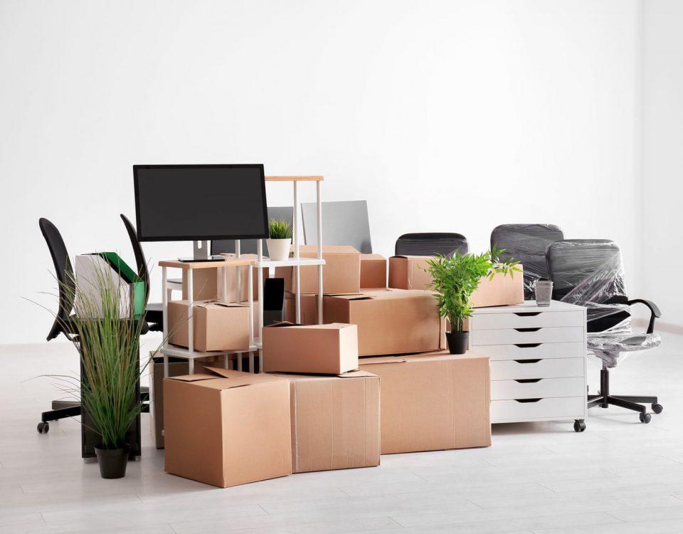Порядок переезда офиса